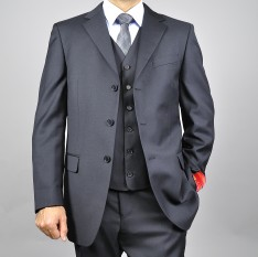 3 Button Single Breasted 3 piece Suit AS-35