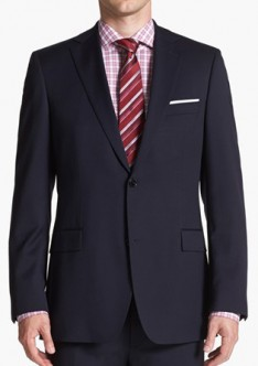 Single Breasted 2 Buttons Bankers Suit AS-24